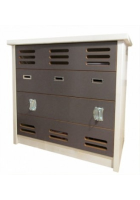 New Worker Commode 4 Tiroirs - Mathy by Bols