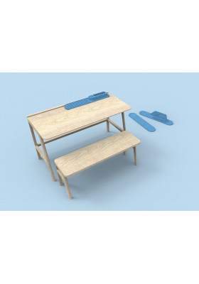 Petit Bureau Vessel Enfant - Mathy by Bols