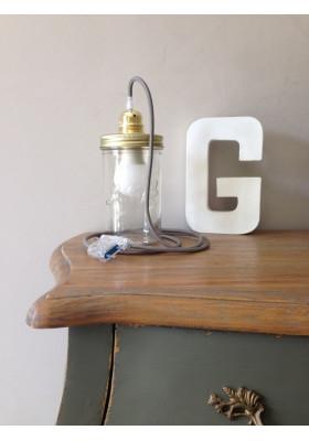 Lampe Bocal Vintage