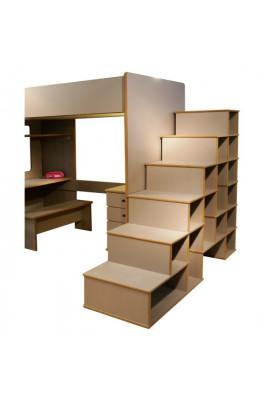 David Bibliothèque Escalier Mezzanine 199 - Mathy by Bols