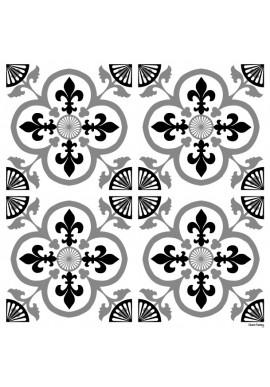 Stickers Carreaux de Ciment Garance - Ciment Factory