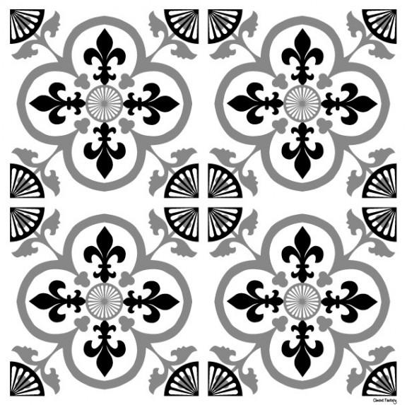 Sticker Carreaux de Ciment Garance - Ciment Factory