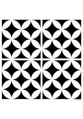 Stickers Carreaux de Ciment Louison - Ciment Factory