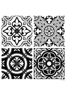 Stickers Carreaux de Ciment Madeleine - Ciment Factory
