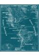 Tapis Vinyle Carte Scolaire Vidal Lablache n°18 - Continent Américain - Ciment Factory