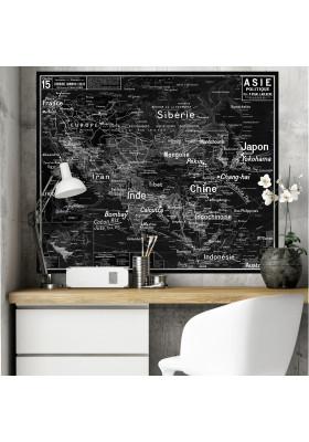 Carte Scolaire Murale Vidal Lablache n°15 - Asie Politique - Ciment Factory