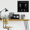 Planche Scolaire Murale - Anatomie - Musculature Humaine - Ciment Factory