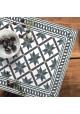 Set de Table Carreaux de Ciment Marguerite - Ciment Factory