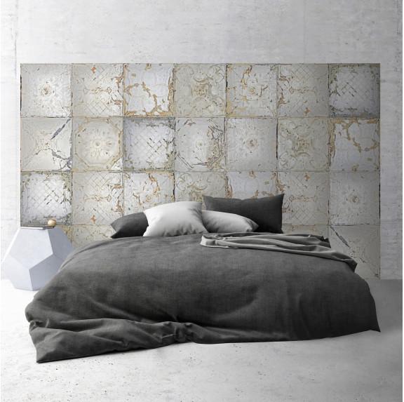 Tête de Lit Plaques Victoriennes - Tin Tiles - Ciment Factory