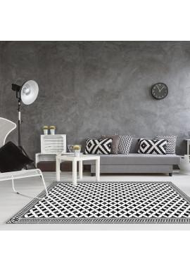 Tapis Vinyle Carreaux de Ciment Louison - Ciment Factory