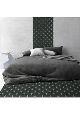 Tapis Vinyle Art Déco - Jean - Ciment Factory