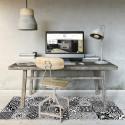 Tapis Vinyle Carreaux de Ciment Madeleine - Ciment Factory