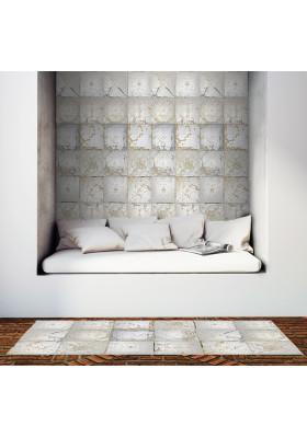 Tapis Vinyle Plaques Victoriennes - Tin Tiles Ciment Factory