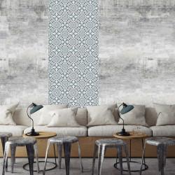 Papier Peint Sur Mesure - Carreaux de Ciment - Bertille