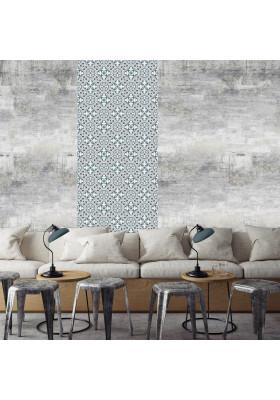 Papier Peint Adhésif Carreaux de Ciment - Bertille