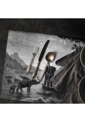 Set de Table Gravure - Les Eléphants - Ciment Factory