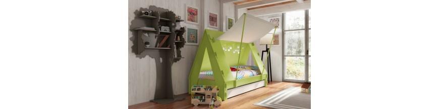 Lit Caravane - Lit Tente - Lit Wagon